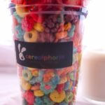 cereal cup with fruit